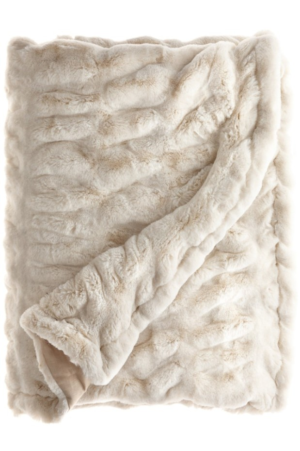 A Faux-Fur Throw
