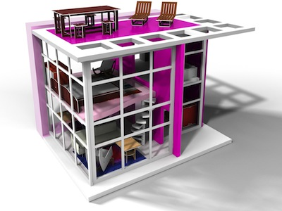 Small Business Saturday: Modern Dollhouses
