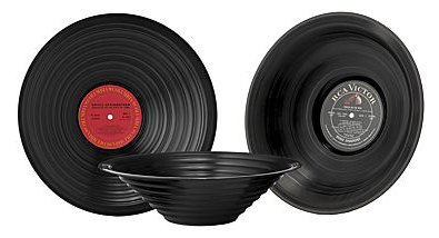 Record Bowls: That 70's Gift