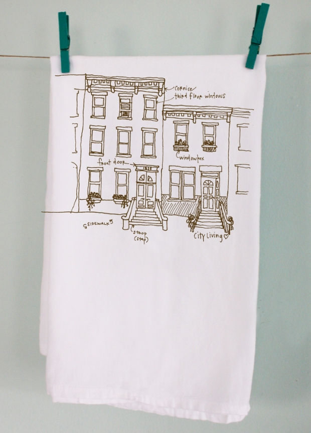 Stocking Stuffer Sundays:  Rowhouse Tea Towels