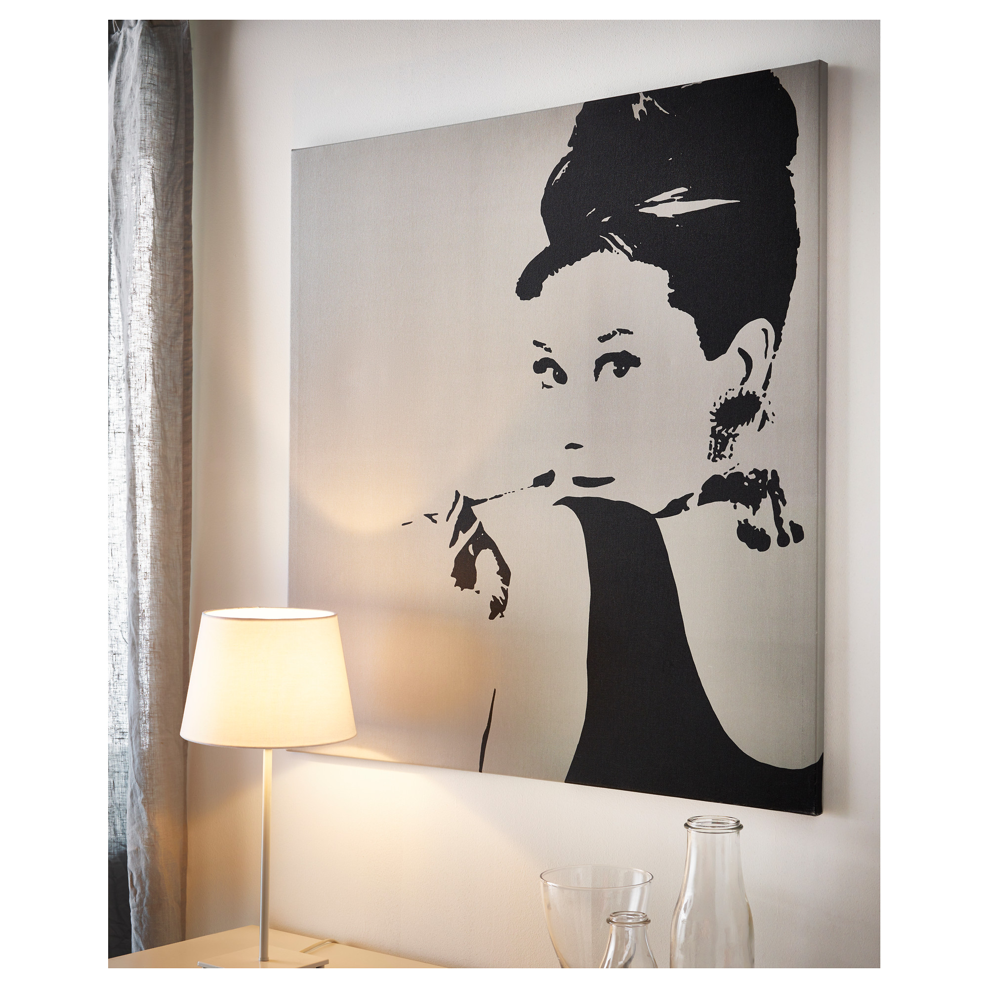 If she loves audrey hepburn giftymcgifty for Quadri moderni ikea