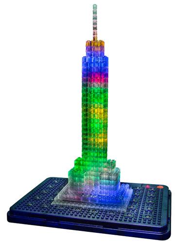 Laser Pegs Landmarks