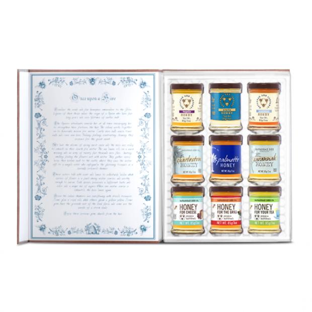Book of Honey open