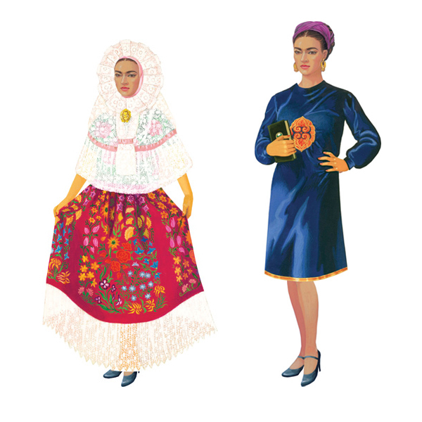 Frida Paper Dolls 2