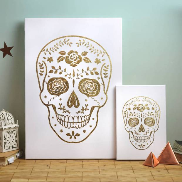 Gold Day of the Dead