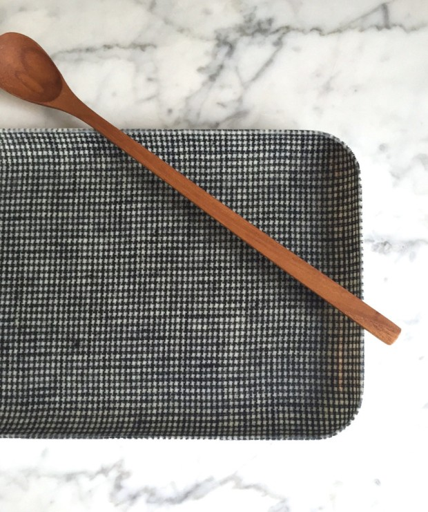 Houndstooth Tray