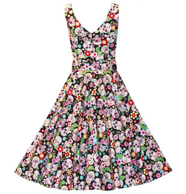 original_vintage-style-sugar-skulls-mexican-swing-dress