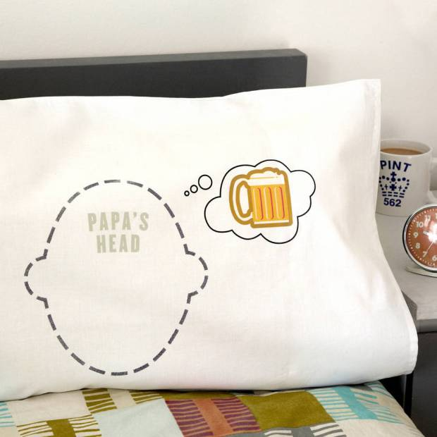 Beer Dreams pillow case