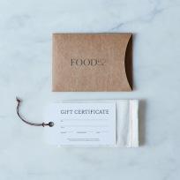 Food 52 Gift Card