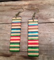 Skateboard Rail earrings